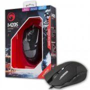 Mouse Gamer Marvo Scorpion M205 BK 800/1600 DPI BLACK
