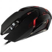 Mouse Gamer MyMax Arbor 2400DPI C/ Led Vermelho OPM-ARBOR/RD