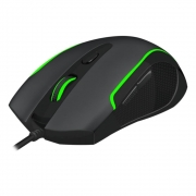 Mouse Gamer T-Dagger Private, LED, 6 Botões, 3200Dpi, Black - T-TGM106