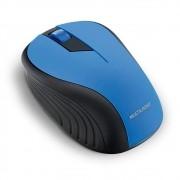 Mouse Multilaser Sem Fio Preto e Azul MO215