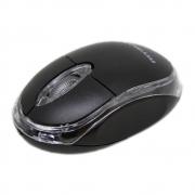 Mouse Óptico USB Neon Preto OPM-3006 800 DPI