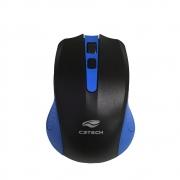 Mouse Sem Fio C3 Tech MW20BL - Azul