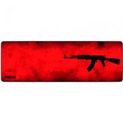 MousePad Gamer Rise Extended 90x29cm AK 47 Vermelho RG-MP-06-AKR