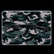 MousePad Gamer Rise Grande 42x29 cm AK47 Military RG-MP-05-AKM