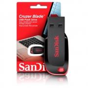 Pen Drive Cruzer Blade 64GB - SanDisk