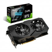 Placa de Vídeo Asus GeForce RTX 2060 EVO Dual 6GB GDDR6 192bit DUAL-RTX2060-6G-EVO