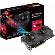 Placa de Vídeo ASUS Radeon RX 570 ROG STRIX OC 4GB Gaming