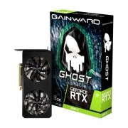 Placa de Vídeo Gainward GeForce RTX 3060 Ti Ghost 8GB GDDR6 256Bit NE6306T019P2-190AB