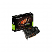 Placa de vídeo Gigabyte GeForce GTX 1050 TI OC 4GB GV-N105TOC-4GD GDDR5 Pci-Exp