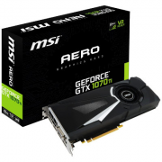 Placa de video MSI GEFORCE GTX 1070 TI AERO 8G DDR5 -