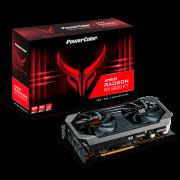 Placa de Vídeo PowerColor Radeon RX 6600XT Red Devil 8GB GDDR6 FSR Ray Tracing AXRX 6600XT 8GBD6-3DHE / OC