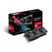 Placa de vídeo Strix Radeon Asus RX 580 8Gb OC GDDR5 ROG-STRIX-RX580-O8G-GAMING
