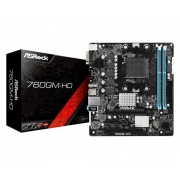 Placa mãe Asrock AM3+ AMD 760GM-HD DDR3 HDMI