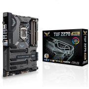 Placa mãe Asus Tuf Z270 Mark 1 DDR4 LGA 1151 RGB SLI / Cros