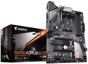 Placa mãe  B450 Aorus Elite Gigabyte AMD AM4 DDR4 M2 RGB