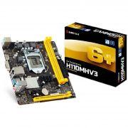 Placa Mãe Biostar H110MHV3 DDR3 LGA 1151, Chipset H110