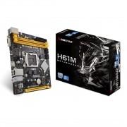 Placa Mãe Biostar H61MHV2 Ver. 7.0 Chipset H61 LGA 1155 mATX DDR3