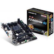 Placa Mãe GIGABYTE AMD FM2+ FM2 GA-F2A68HM-S1 DDR3 Usb3