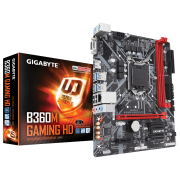 Placa mãe Gigabyte B360M GAMING HD Chipset Intel B360 LGA 1151