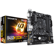 Placa mãe Gigabyte B450M DS3H DDR4 AMD AM4 M-ATX