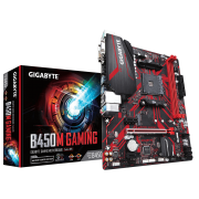 Placa Mãe Gigabyte B450M Gaming, AMD AM4, mATX, DDR4