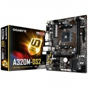 Placa Mãe Gigabyte GA A320M DS2 Chipset AMD DDR4