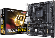 Placa Mãe Gigabyte GA-AB350M-DS3H V2, Chipset B350, AMD AM4, ATX, DDR4