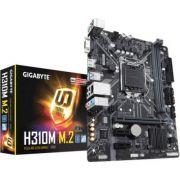 Placa Mãe GIGABYTE p/ Intel LGA 1151 mATX H310M M.2 DDR4