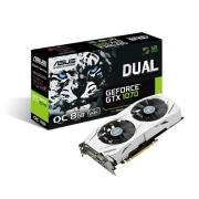 Placa Video ASUS GTX 1070 8GB Dual 256BITS DUAL-GTX1070-O8G