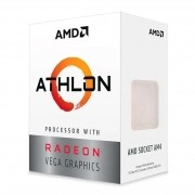 Processador AMD Athlon 3000G 3,5Ghz 5MB Cache AM4 YD3000C6FHBOX
