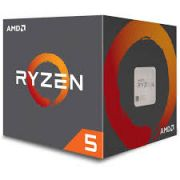 Processador AMD Ryzen 5 1400, Quad Core, Cache 8MB, 3.2GHz (Max Turbo 3.4GHz) AM4 - YD1400BBAEBOX