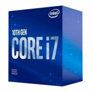 Processador Intel Core i7 10700F 2.90GHz (4.80GHz Turbo) 10ª Geração Octa Core 16-Threads LGA 1200 BX8070110700F