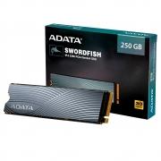 SSD Adata Swordfish 250GB M.2 2280 Leitura 1800MBs e Gravação 1200MBs ASWORDFISH-250G-C