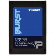 SSD Patriot Burst 120GB Leitura 560MBs e Gravação 540MBs PBU120GS25SSDR