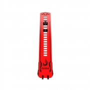 Suporte para VGA RISE LV2 Small Black and Red RM-SV-04-BR