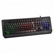 Teclado C3 Tech Gamer com Iluminação Preto KG-50BK