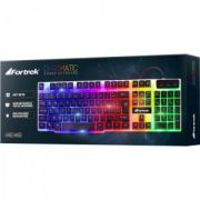 Teclado Gamer Gk-710 Fortrek Chromatic LED Colorido