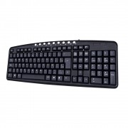 Teclado Multimidia KB2237 C3 TECH USB Preto