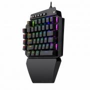 Teclado Mecânico Gamer Redragon IDA K583 RGB Switch Outemu Blue Black