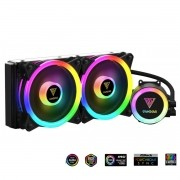 Water Cooler Gamdias Chione M2-240R RGB Com Controlador 240mm Intel AMD