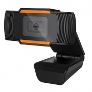 Webcam Brazil PC V5 HD 720P Preto/Laranja USB