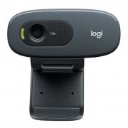 Webcam Logitech C270 HD 720P C/ Microfone Preto 960-000694