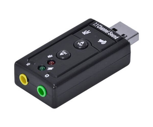 Adaptador Vinik Placa de Som USB 7.1 Virtual - AUSB71