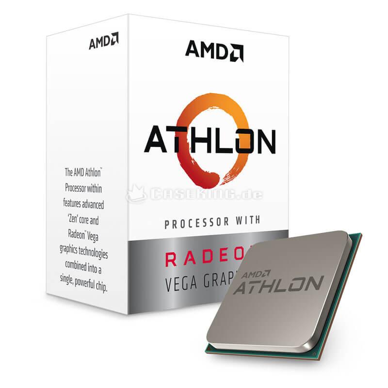 Bs Gamer AMD Athlon 200Ge 3.2GHZ 4MB, 8GB DDR4, HD 1TB, 500W, GTX 1050 2GB