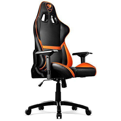 Cadeira Gamer Cougar ARMOR Preto Laranja CGR-NXNB-GC1