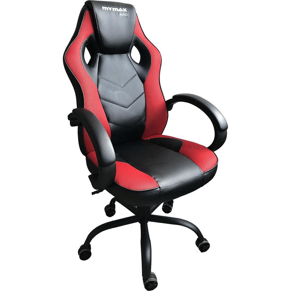 Cadeira Gamer MX0 Giratoria Preto/Vermelho MGCH-MX0/RD