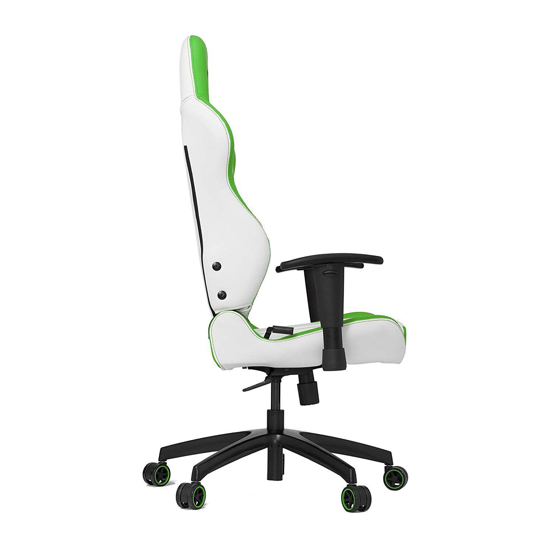 Cadeira Gamer Vertagear Racing S-LINE SL2000 Branca e Verde