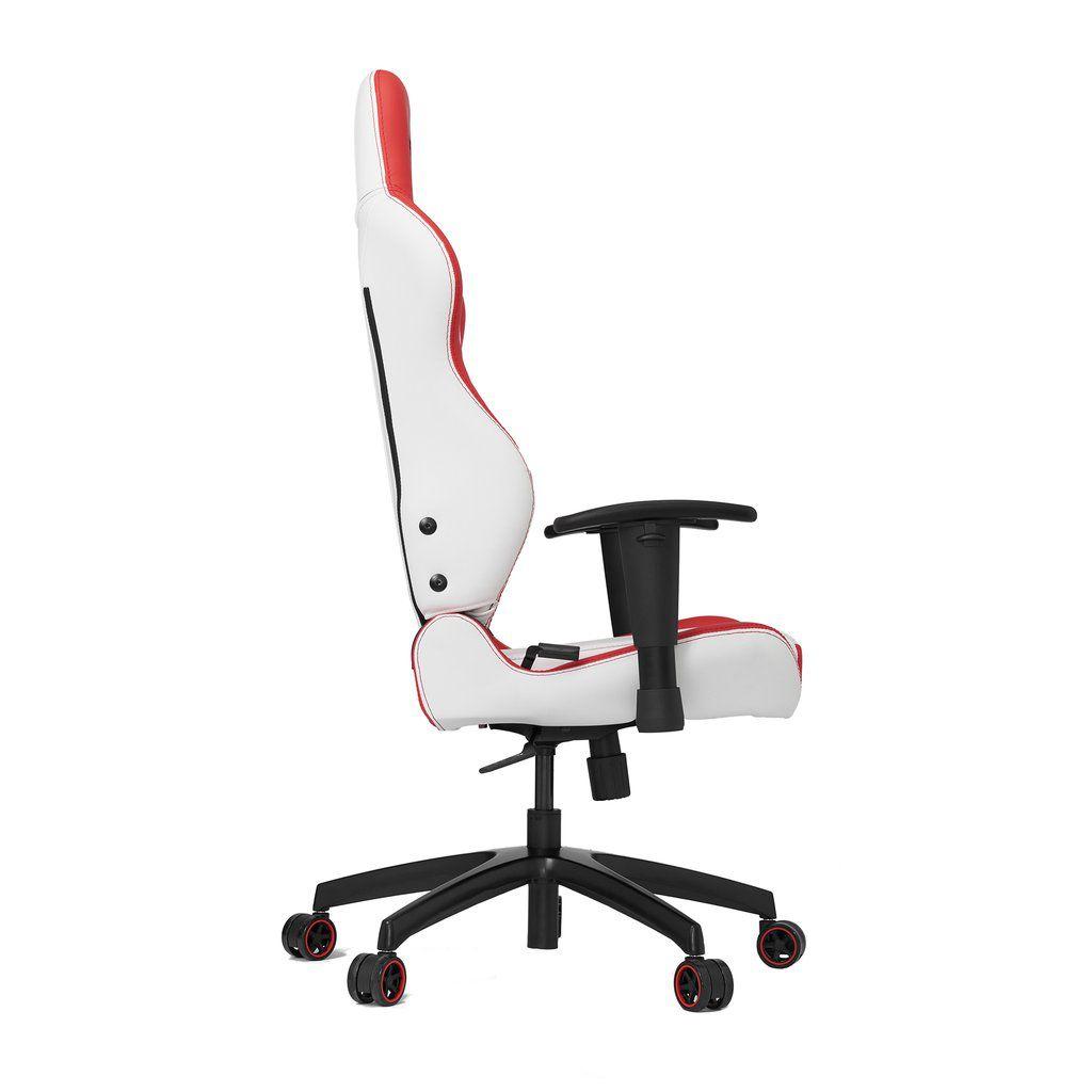 Cadeira Gamer Vertagear Series Racing S-LINE SL2000 Branca e Vermelha - VG-SL2000_WRD