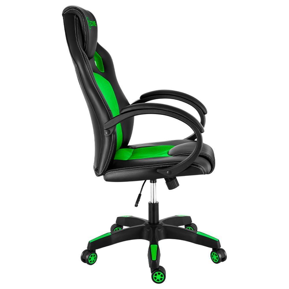 Cadeira Gamer Xzone CGR-02 Almofada Encosto Reclinável Preto Verde
