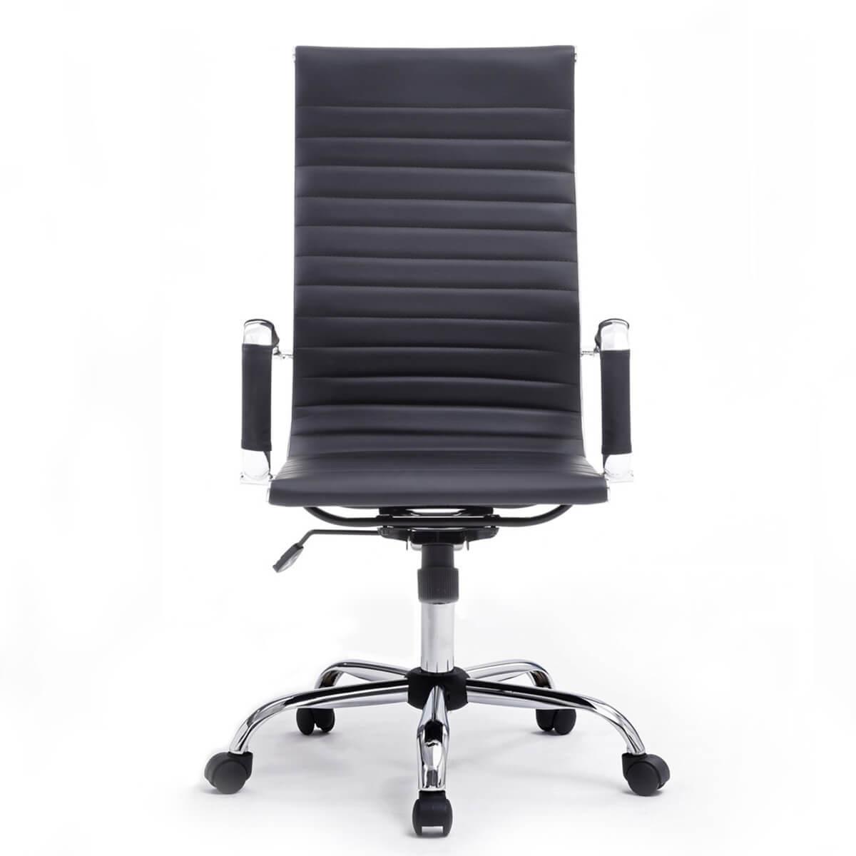 Cadeira Office Giratória Gerente Preta Bluecase - BCH-59BK